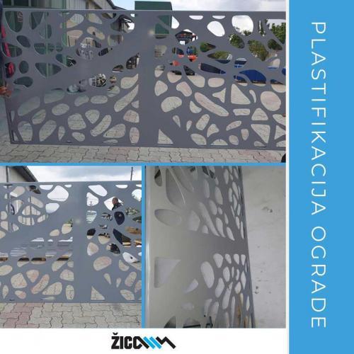 plastifikacija ograde
